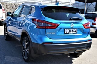 2019 Nissan Qashqai J11 Series 3 MY20 ST-L X-tronic Vivid Blue 1 Speed Constant Variable Wagon