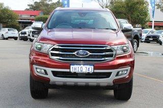 2020 Ford Everest UA II 2020.25MY Titanium Red 10 Speed Sports Automatic SUV.