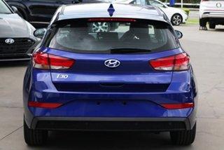 2021 Hyundai i30 PD.V4 MY21 Elite Blue 6 Speed Sports Automatic Hatchback.