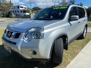 2012 Nissan X-Trail T31 Series V ST 2WD Silver 1 Speed Constant Variable Wagon.