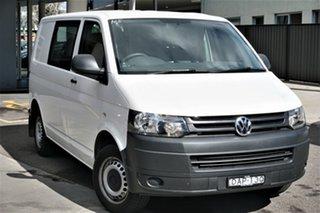 2015 Volkswagen Transporter T5 MY15 TDI250 SWB Runner Candy White 5 Speed Manual Van.