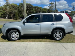 2012 Nissan X-Trail T31 Series V ST 2WD Silver 1 Speed Constant Variable Wagon