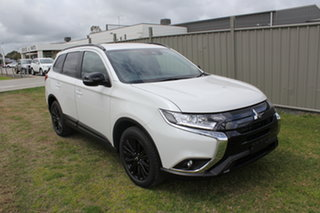 2021 Mitsubishi Outlander ZL MY21 Black Edition 2WD White 6 Speed Constant Variable Wagon.