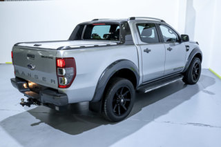 2015 Ford Ranger PX MkII Wildtrak Double Cab Silver 6 Speed Sports Automatic Utility