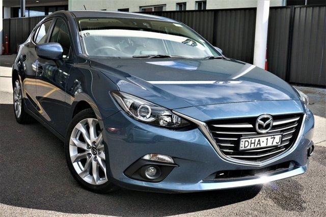 Used Mazda 3 BM5438 SP25 SKYACTIV-Drive Phillip, 2016 Mazda 3 BM5438 SP25 SKYACTIV-Drive Blue 6 Speed Sports Automatic Hatchback