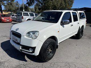 2009 Great Wall V240 K2 Super Luxury White 5 Speed Manual Utility.