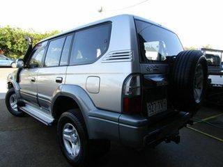 2002 Toyota Landcruiser Prado KZJ95R TX FullTime 4WD DR Silver 4 Speed Automatic Wagon.