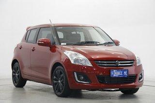 2016 Suzuki Swift FZ MY15 GLX Navigator Red 4 Speed Automatic Hatchback