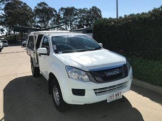 2016 Isuzu D-MAX MY15.5 SX White 5 speed Automatic Cab Chassis.