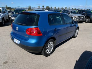 2005 Volkswagen Golf 1K 2.0 FSI Comfortline Blue 6 Speed Tiptronic Hatchback