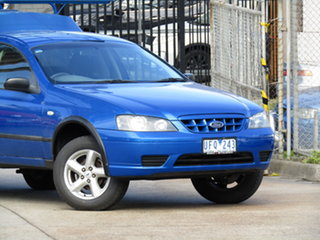 2005 Ford Falcon BA Mk II RTV Super Cab Abyss Blue 4 Speed Automatic Cab Chassis.
