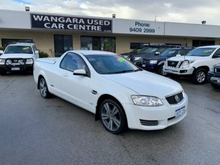 2012 Holden Commodore VE II MY12 Omega White 6 Speed Automatic Utility.