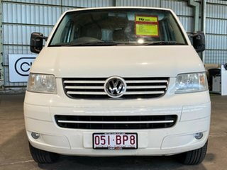 2007 Volkswagen Transporter T5 MY07 White 6 Speed Sports Automatic Cab Chassis
