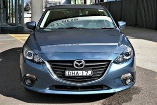 2016 Mazda 3 BM5438 SP25 SKYACTIV-Drive Blue 6 Speed Sports Automatic Hatchback.