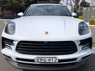 2018 Porsche Macan 95B MY19 PDK AWD White 7 Speed Sports Automatic Dual Clutch Wagon.