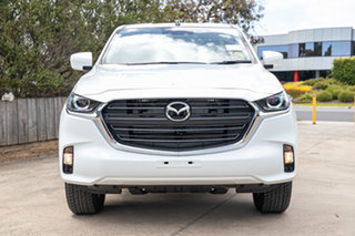 2021 Mazda BT-50 TFS40J XT Freestyle Ice White 6 Speed Manual Cab Chassis.