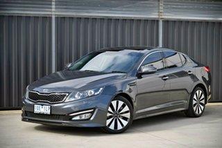 2012 Kia Optima TF MY12 Platinum Grey 6 Speed Sports Automatic Sedan.
