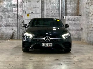 2018 Mercedes-Benz CLS-Class C257 CLS450 Coupe 9G-Tronic PLUS 4MATIC Black 9 Speed Sports Automatic.