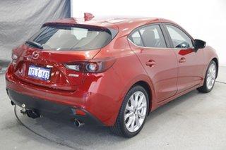 2014 Mazda 3 BM5436 SP25 SKYACTIV-MT GT Red 6 Speed Manual Hatchback