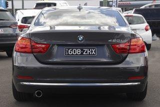 2014 BMW 4 Series F32 420i Luxury Line Grey 8 Speed Sports Automatic Coupe