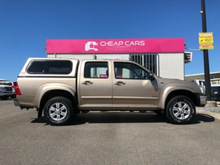 2008 Holden Rodeo RA MY08 LT Crew Cab Gold 5 Speed Manual Utility.