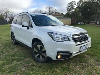 2018 Subaru Forester MY18 2.5I-L White Continuous Variable Wagon.