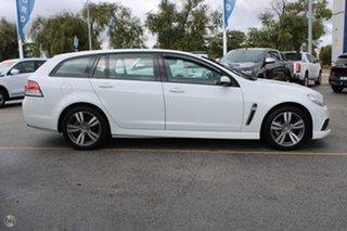 2013 Holden Commodore VF MY14 SV6 Sportwagon White 6 Speed Sports Automatic Wagon.