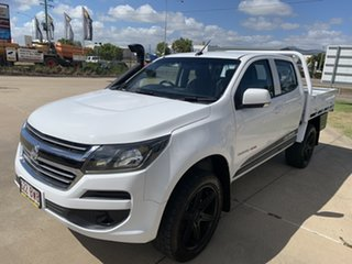 2017 Holden Colorado RG MY18 LS Pickup Crew Cab White/290518 6 Speed Sports Automatic Utility