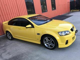 2010 Holden Commodore VE II SV6 Yellow 6 Speed Sports Automatic Sedan