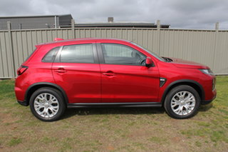 2021 Mitsubishi ASX XD MY21 ES 2WD Red 1 Speed Constant Variable Wagon.
