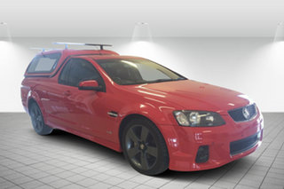 2012 Holden Ute VE II SV6 Thunder Red 6 Speed Sports Automatic Utility.