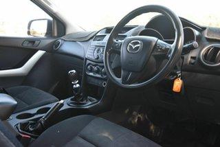 2014 Mazda BT-50 UP0YF1 XT Freestyle 4x2 Hi-Rider White 6 Speed Manual Cab Chassis