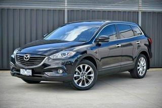 2014 Mazda CX-9 TB10A5 Luxury Activematic Black 6 Speed Sports Automatic Wagon.