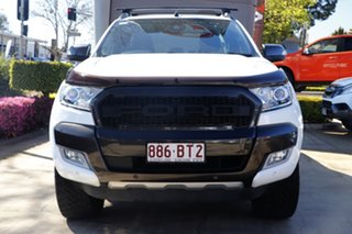 2017 Ford Ranger PX MkII Wildtrak Double Cab White 6 Speed Sports Automatic Utility.
