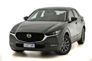 2020 Mazda CX-30 DM2W7A G20 SKYACTIV-Drive Pure Black 6 Speed Sports Automatic Wagon.