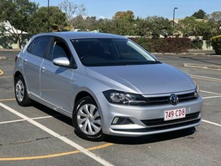 2018 Volkswagen Polo AW MY18 70TSI Trendline Silver 5 Speed Manual Hatchback.