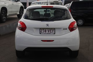 2014 Peugeot 208 A9 MY14 Allure White 4 Speed Automatic Hatchback