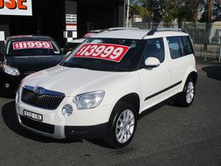 2012 Skoda Yeti 5L 112 TSI (4x4) White 6 Speed Direct Shift Wagon.