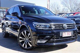 2016 Volkswagen Tiguan 5N MY17 140TDI DSG 4MOTION Highline Black 7 Speed.