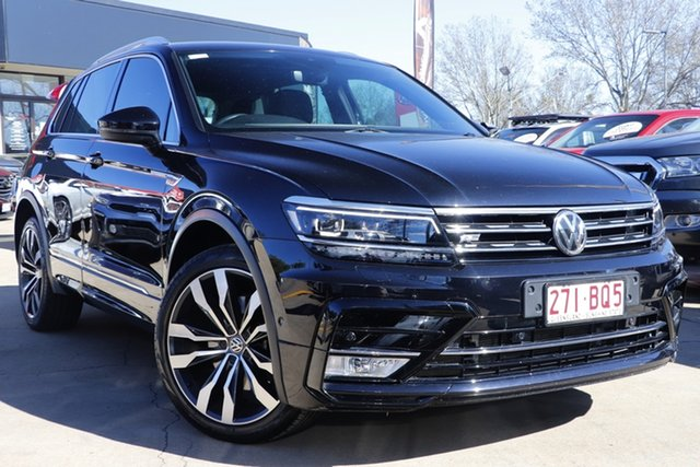 Used Volkswagen Tiguan 5N MY17 140TDI DSG 4MOTION Highline Toowoomba, 2016 Volkswagen Tiguan 5N MY17 140TDI DSG 4MOTION Highline Black 7 Speed