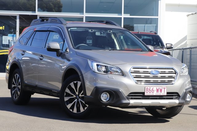 Used Subaru Outback B6A MY15 2.5i CVT AWD Premium Toowoomba, 2015 Subaru Outback B6A MY15 2.5i CVT AWD Premium Tungsten Metal 6 Speed Constant Variable Wagon