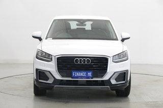 2017 Audi Q2 GA MY18 design S Tronic White 7 Speed Sports Automatic Dual Clutch Wagon.