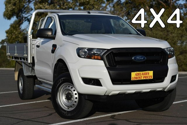 Used Ford Ranger PX MkII XL Strathalbyn, 2016 Ford Ranger PX MkII XL White 6 Speed Manual Cab Chassis