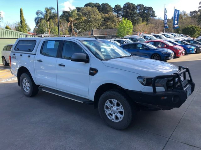 Used Ford Ranger PX MkII XLS Double Cab Berwick, 2016 Ford Ranger PX MkII XLS Double Cab White 6 Speed Sports Automatic Utility