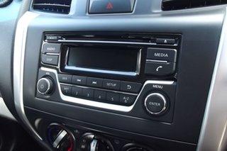 2016 Nissan Navara D23 RX King Cab White 6 Speed Manual Cab Chassis