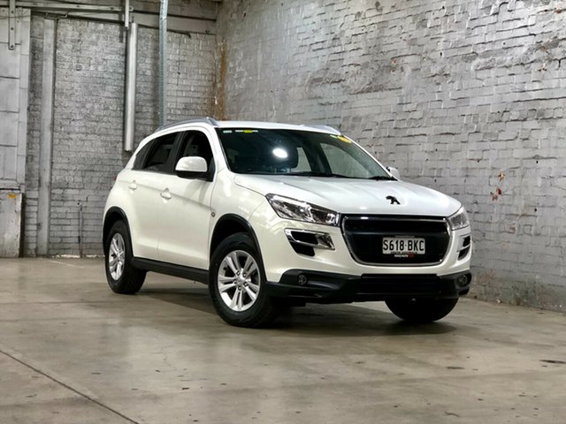 Used Peugeot 4008 MY15 Active 2WD Mile End South, 2015 Peugeot 4008 MY15 Active 2WD White 6 Speed Constant Variable Wagon