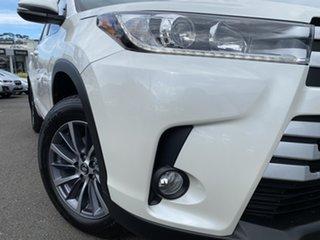 2019 Toyota Kluger GSU55R GXL AWD Pearl White 8 Speed Sports Automatic Wagon.