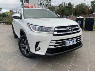 2017 Toyota Kluger GSU50R GX 2WD White 8 Speed Sports Automatic Wagon.
