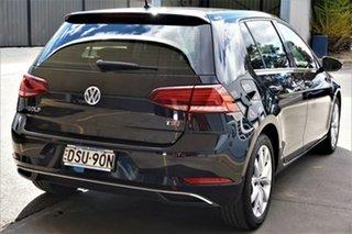2017 Volkswagen Golf 7.5 MY18 110TSI DSG Comfortline Black 7 Speed Sports Automatic Dual Clutch