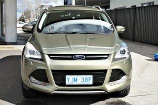 2013 Ford Kuga TF Titanium AWD Gold 6 Speed Sports Automatic Wagon.